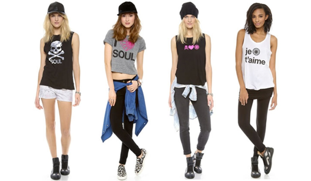 Shopbop and SoulCycle collaborate on collection