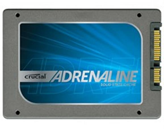Crucial outs Adrenalin Solid State Cache Solution, less long-winded m4 SSDs
