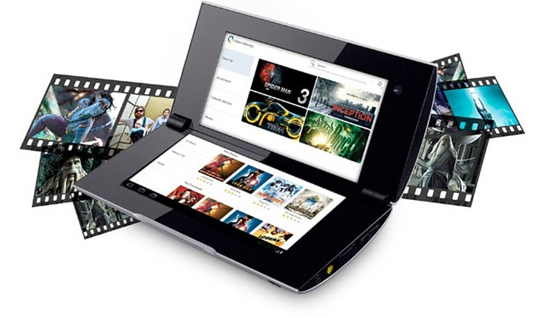 Sony Tablet P available online, the P is short for pricey