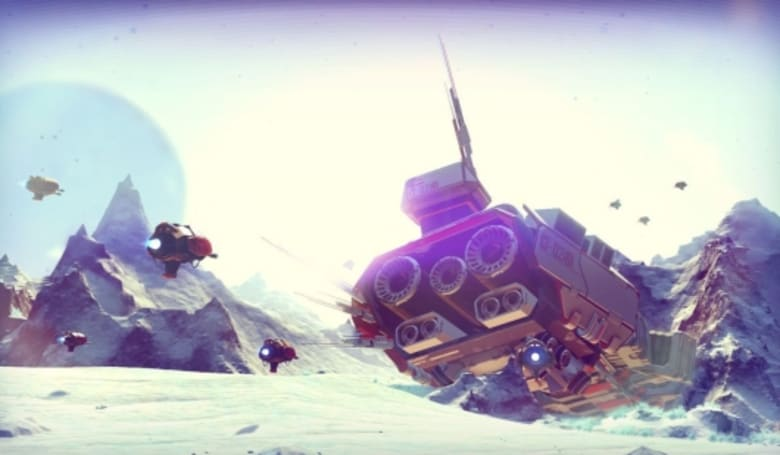 No Man's Sky might not be an MMO, but it's certainly a close cousin