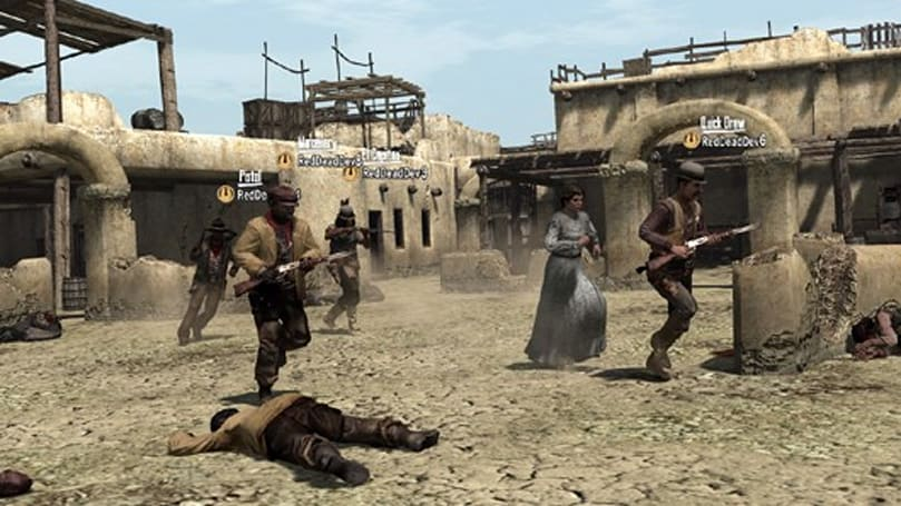 PSA: Red Dead Redemption 'Outlaws to the End' DLC available today