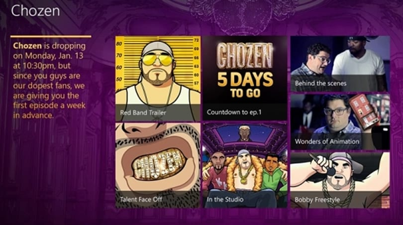 New FX series Chozen premieres debut episode on Xbox One