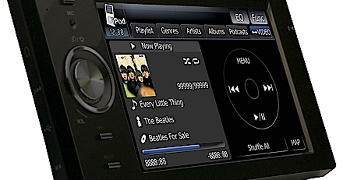 Pioneer's AVIC-F500BT GPS nagivator offers voice control ...