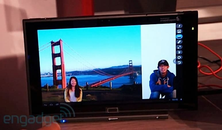 Qualcomm shows off Snapdragon 800 voice activation and photo editing abilities (video)