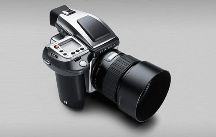 Hasselblad H4D-40 Stainless Steel medium format camera: limited to 100 units, priced at €13,990