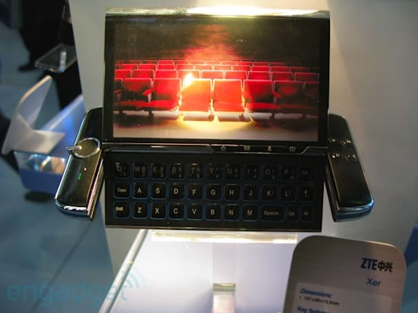 ZTE's fancy concepts at MWC 2009