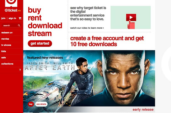 Target Ticket video-on-demand service exits closed beta, is now open for everyone