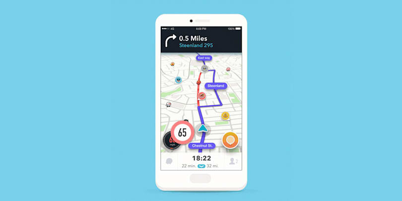 Waze will warn you when you're speeding