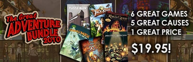 The Great Adventure Bundle 2010 deal extended until Friday