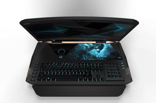IFA 2016: Acer Predator 21 X Gaminglaptop mit gebogenem Screen