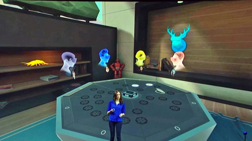 Virtually hang out with up to 7 friends in Oculus' 'VR Rooms'