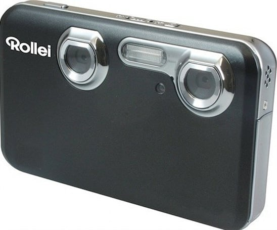 Rollei goes 3D with Power Flex 3D point-and-shoot, Designline 3D photo frame