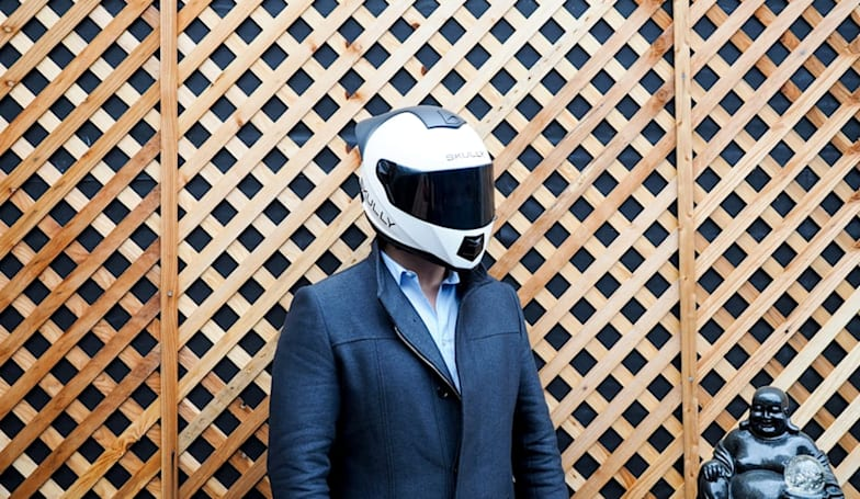 Skully debuts AR helmet app while navigating delays