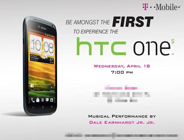 T-Mobile hands out press invites to One S event on April 18th