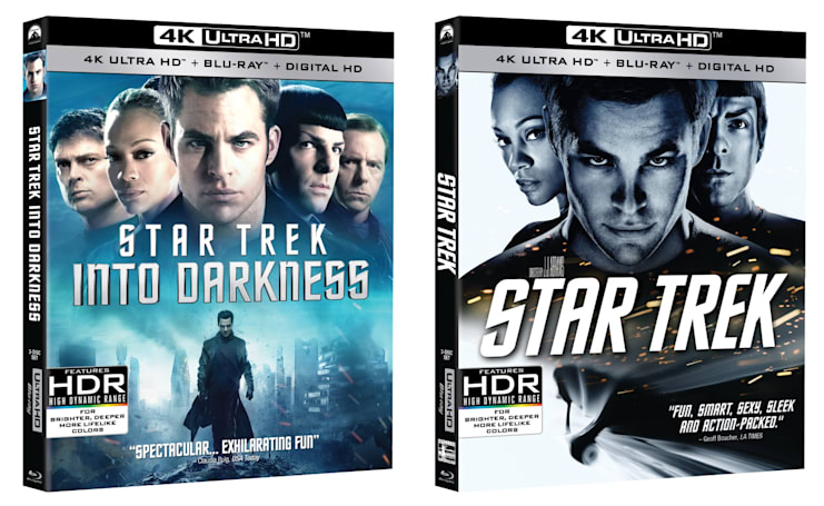 The last two 'Star Trek' films are coming home in 4K June 14th