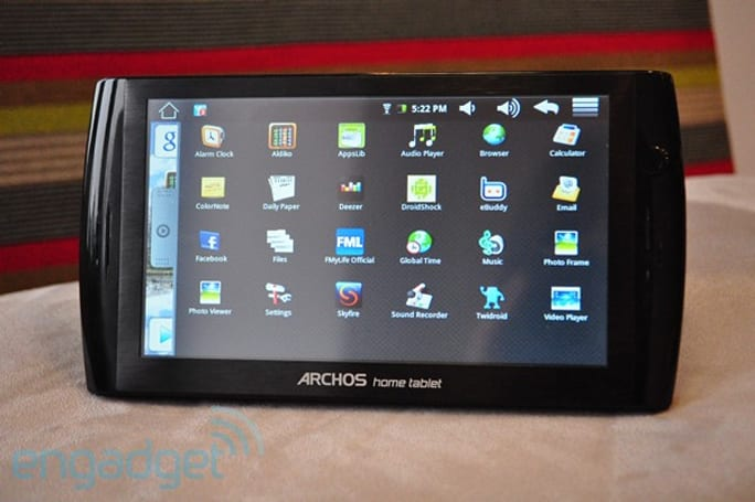 Archos 7 Home Tablet review