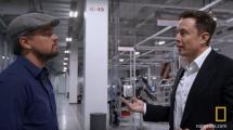 Video: Leonardo DiCaprio besichtigt die Tesla-Gigafactory