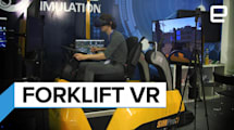 Shenmue did not prepare me for this VR forklift truck simulator