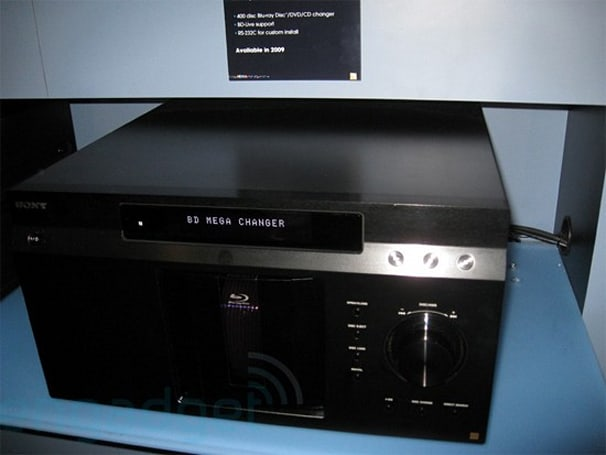 Sony's 400-disc BDP-CX7000ES Blu-ray Mega Changer reportedly coming soon
