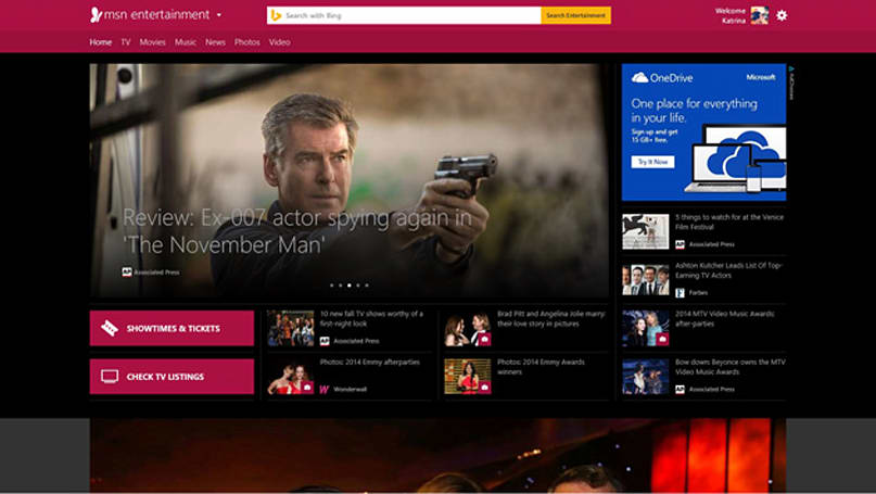 MSN homepage reborn as a blend of news portal and online desktop