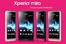 Sony Xperia miro unveiled ahead of time, light on details