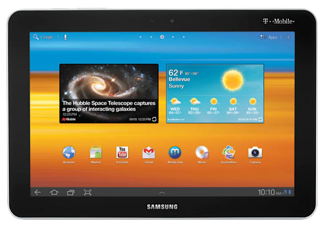 T-Mobile unveils Galaxy Tab 10.1 and SpringBoard, combines 4G talk with HSPA+ walk