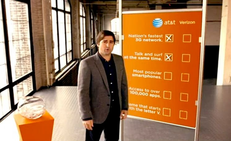 AT&T 'hits' back at Verizon's Map for That campaign with an 'ad' of its own