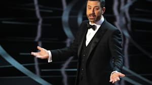 Kimmel 'Epically' Roasts Meryl Streep at Oscars