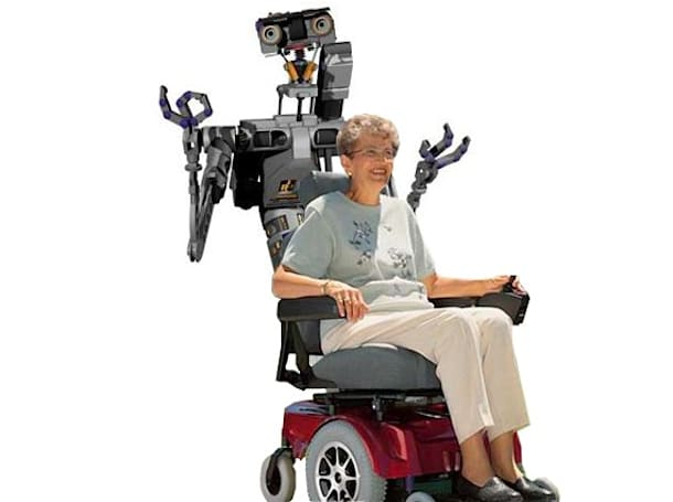 NSF backs development of laser-guided robot wheelchairs