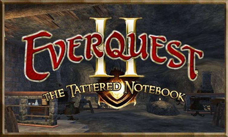 The Tattered Notebook:  Experimentation in EverQuest II