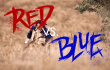 Red vs. Blue: die ultimative Farbschlacht