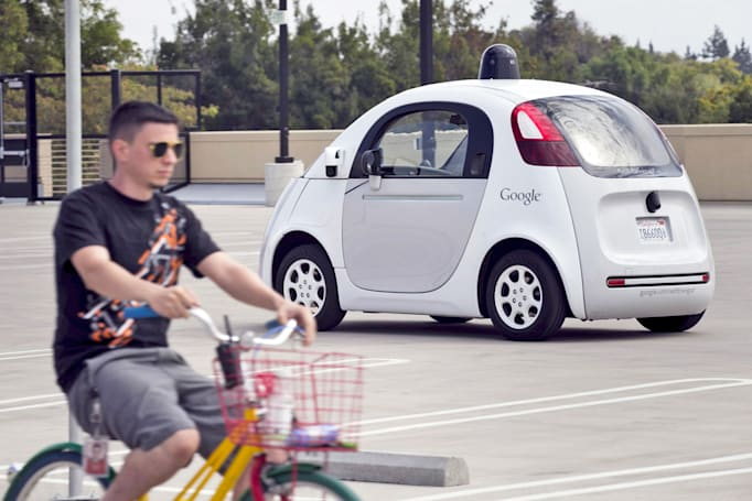 Google's self-driving cars can read cyclists' hand signals