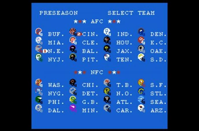 Tecmo Super Bowl 2013 gives classic game up-to-date NFL rosters