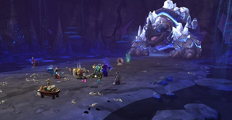 Throne of Thunder: Forgotten Depths Raid Finder bosses in 5 seconds