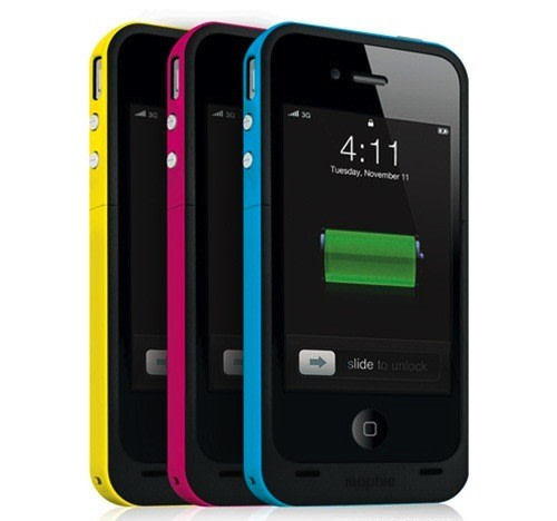 iphone 4s battery life mophie juice pack plus more than doubles iphone 4 14419
