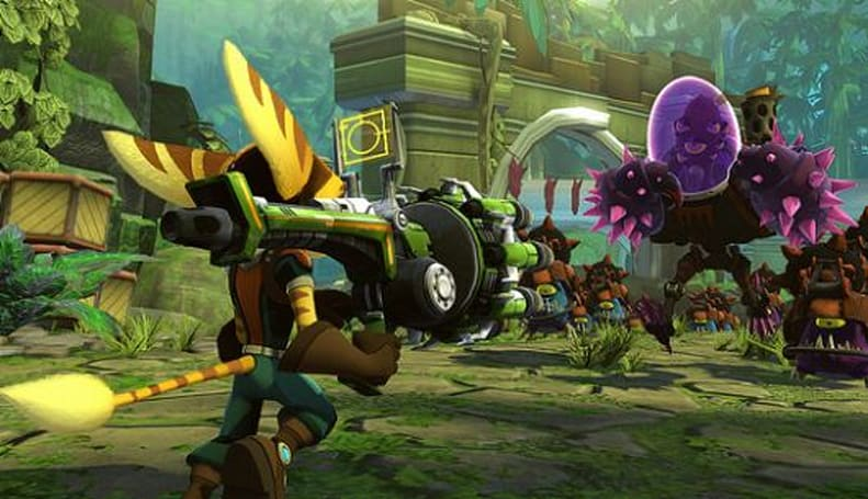 Ratchet & Clank: Full Frontal Assault on PSN includes Captain Qwark, tower defense