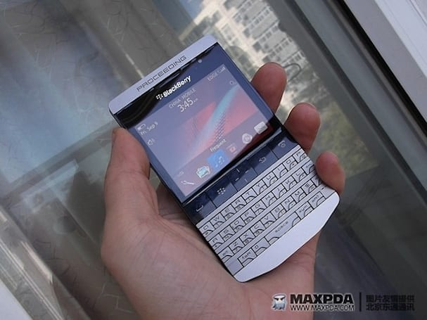 Mysterious BlackBerry surfaces on forum, possibly 9900 prototype (update: a limited luxury edition?)