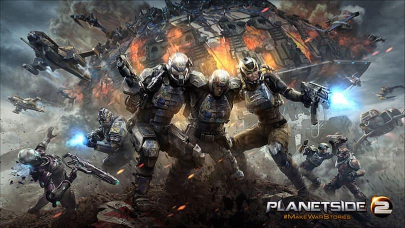 PlanetSide 2's PS4 beta arrives on January 20th