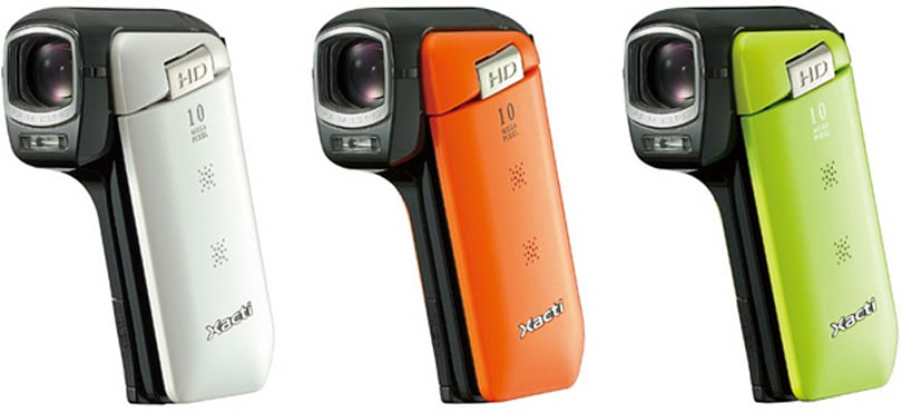 Sanyo Xacti CG11 is the perfect cam for 'beginners and women'