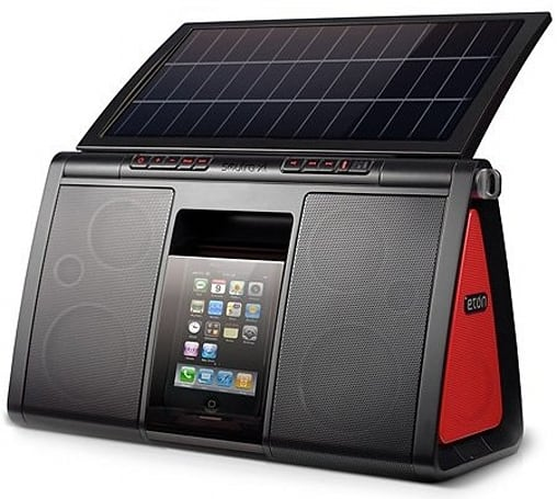 Eton's Soulra XL solar-powered iPod boombox will cost $300, now ready for your pre-orders