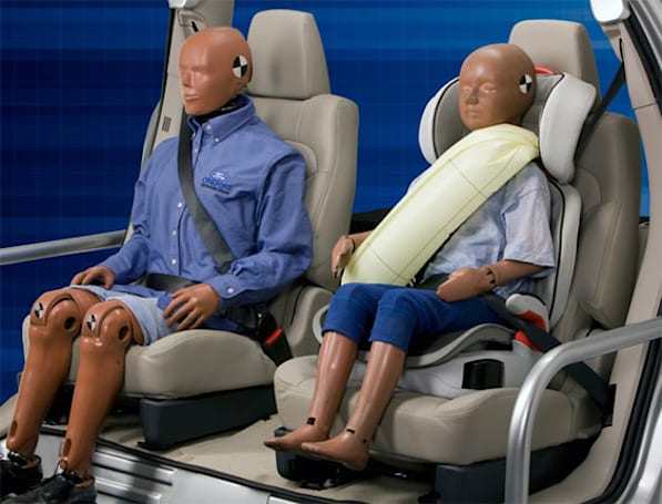 Ford's inflatable seat belts headed to Explorer in 2010, other whips in due time (video)