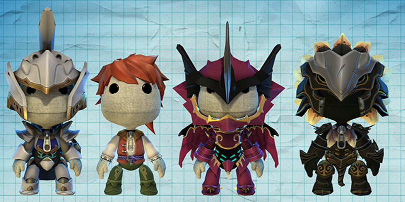 White Knight Chronicles costumes coming to LittleBigPlanet
