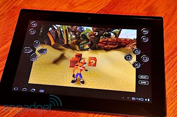 Sony Tablet S update lets you play with PS3 controllers, cable adapter required