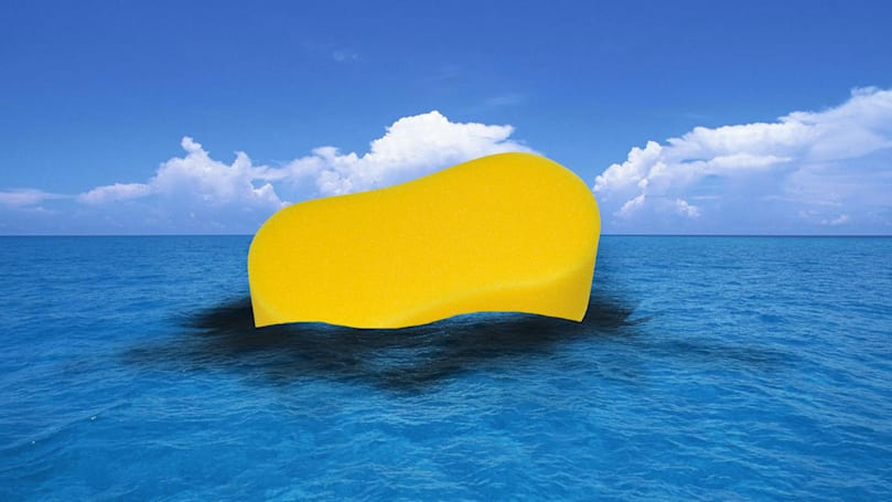 Researchers create magic sponge to clean up oil spills