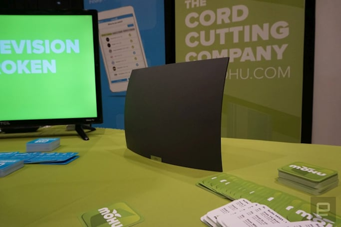 Mohu's wireless AirWave antenna makes cord-cutting simple