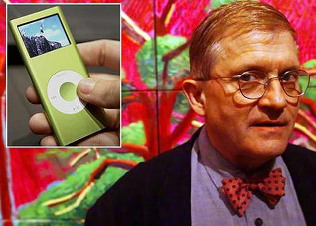 iPod blamed for stealing the thunder from contemporary art