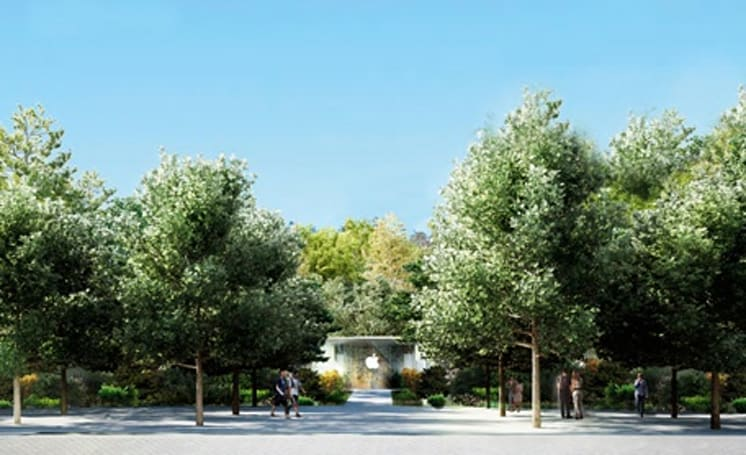 Check out these new images of Apple Campus 2
