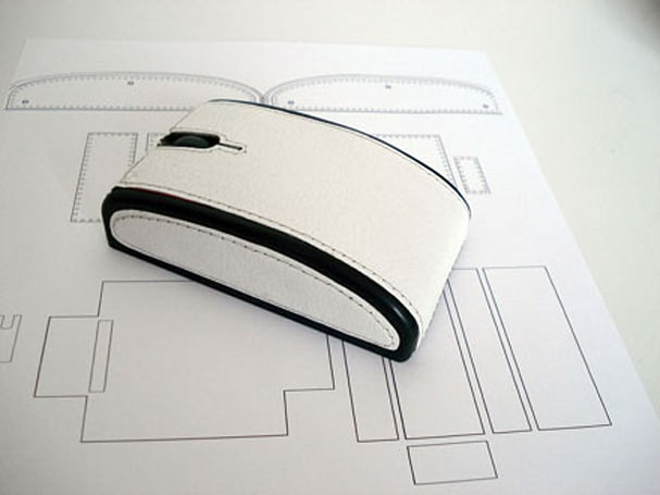 Slava Tyukalov's handmade wireless mice