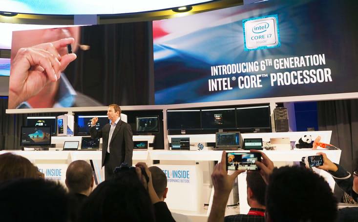 Intel's profit drops as PC sales keep sliding