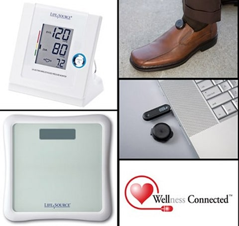 LifeSource Wellness Connected family brings wireless health monitoring home